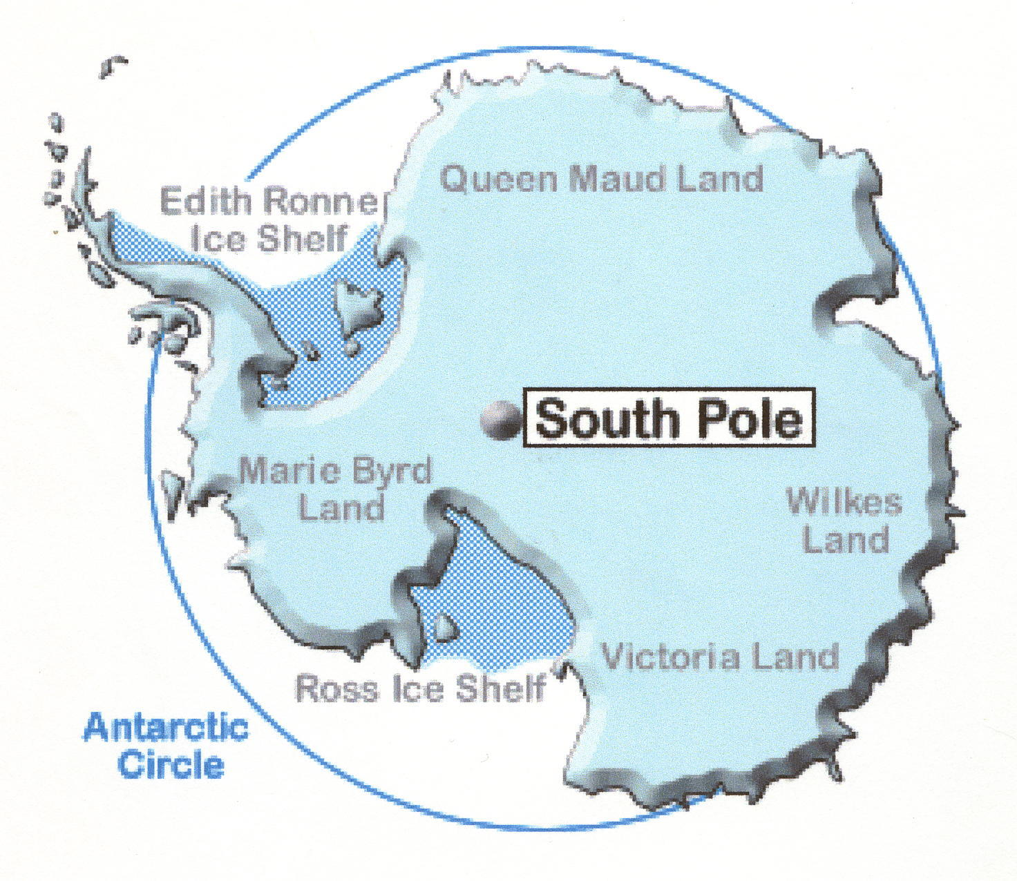 Antarctica - Antarctica cities map